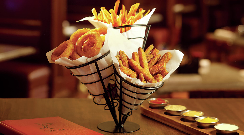 sports bay mandalay food bar grill restaurants restaurant drink dining burger mgm