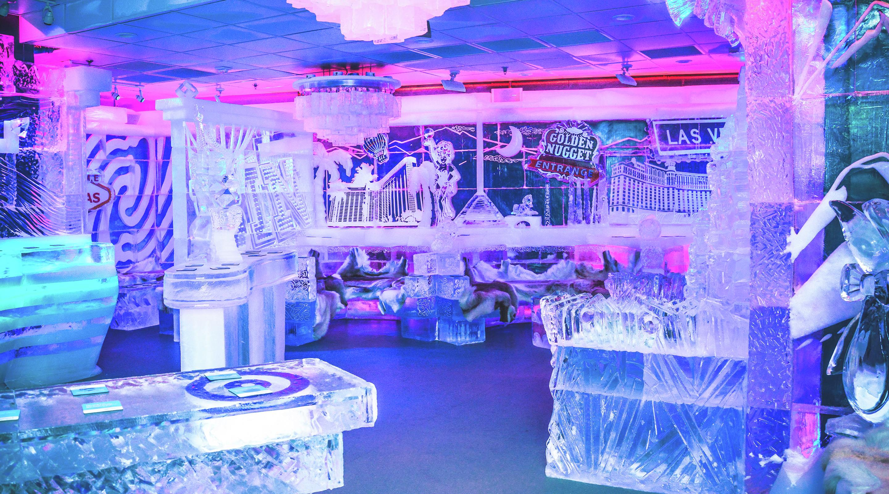 Minus5 Ice Bar Mandalay Bay